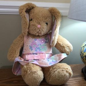 Build-A-Bear Sweet floppy-eared Bunny w/dress